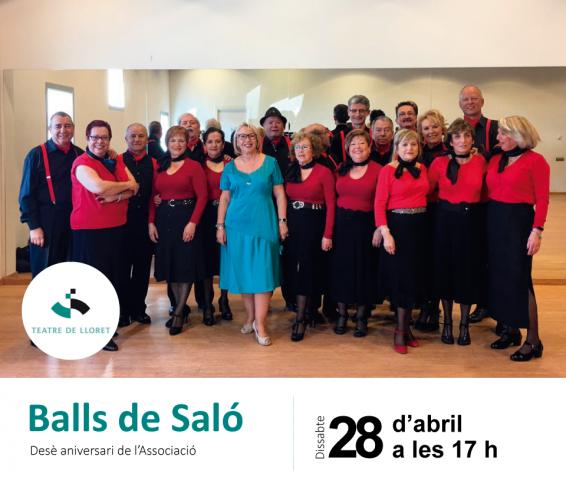 Desè aniversari de l'Associació dels Amics dels Balls de Saló