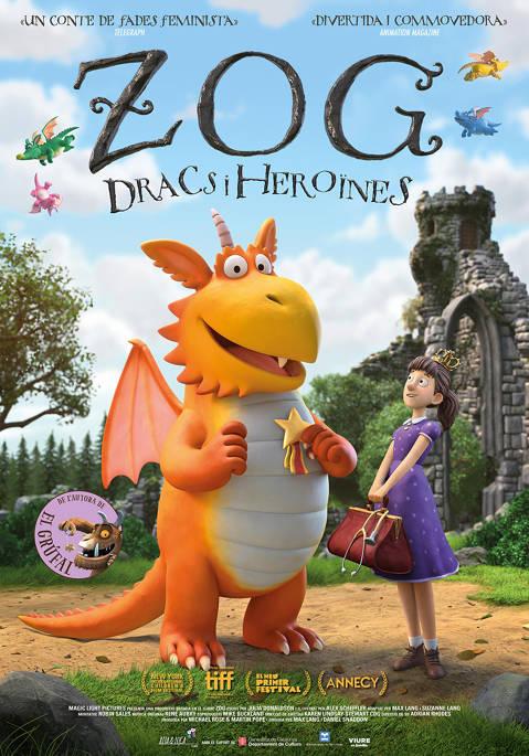 EL petit Adler presenta: Zog, dracs i heroïnes