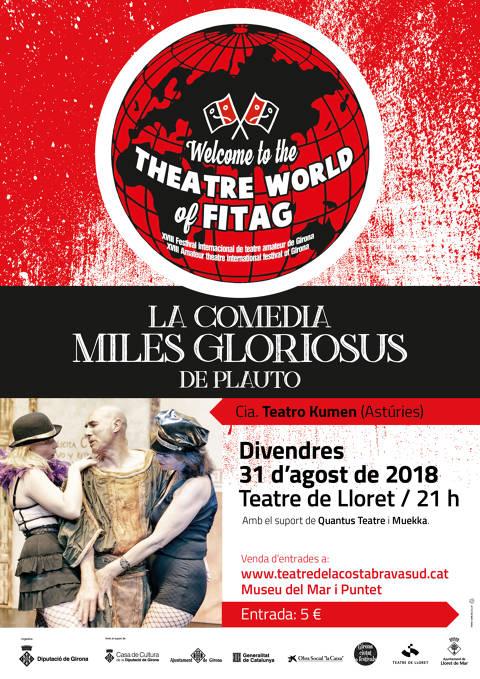 FITAG: La comedia Miles Gloriosus de Plauto