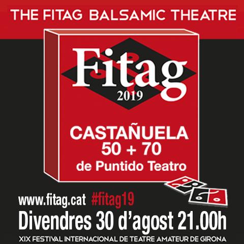 FITAG presenta: CASTAÑUELA 70 + 50 de Puntido Teatro.