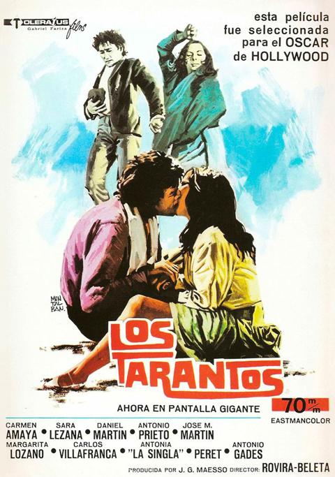 CINEMA DE FESTA MAJOR: LOS TARANTOS