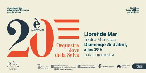 Concert: 20è Aniversari Orquestra Jove de la Selva. ANUL·LAT