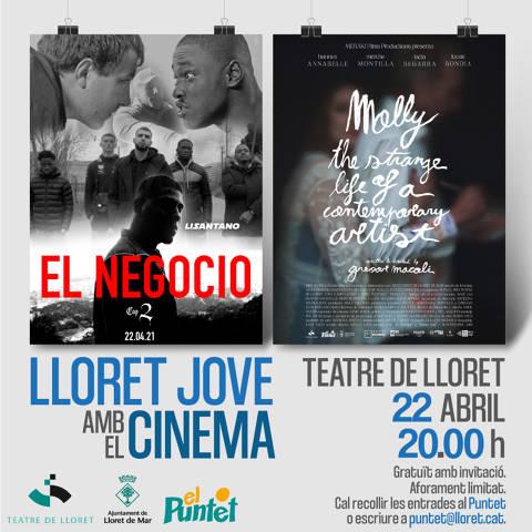 LLORET JOVE AMB EL CINEMA