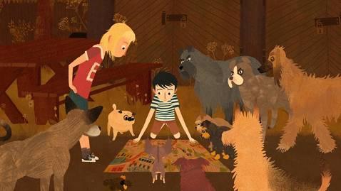 El petit Adler presenta: Jacob, Mimi i els gossos del barri